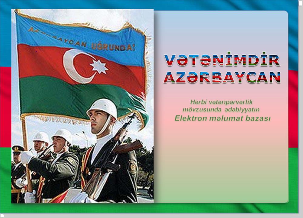 Vətənimdir Azərbaycan